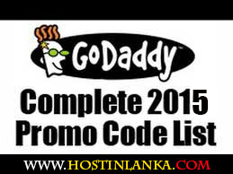 GoDaddy Promo Codes Coupons 2015