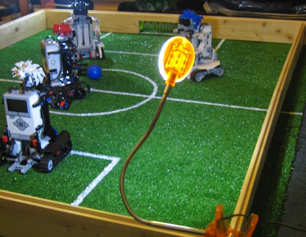 Camera Lego Nxt : Ev football robots at fana briques the nxt step is ev