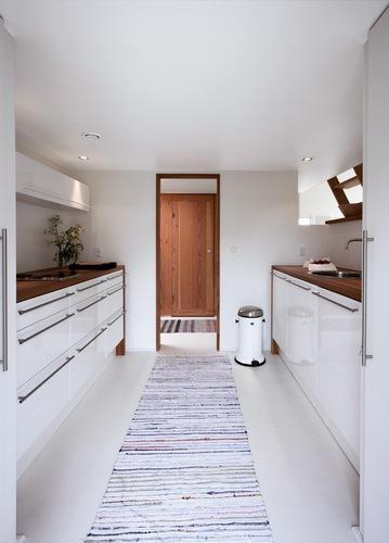 cocina nordica blanca