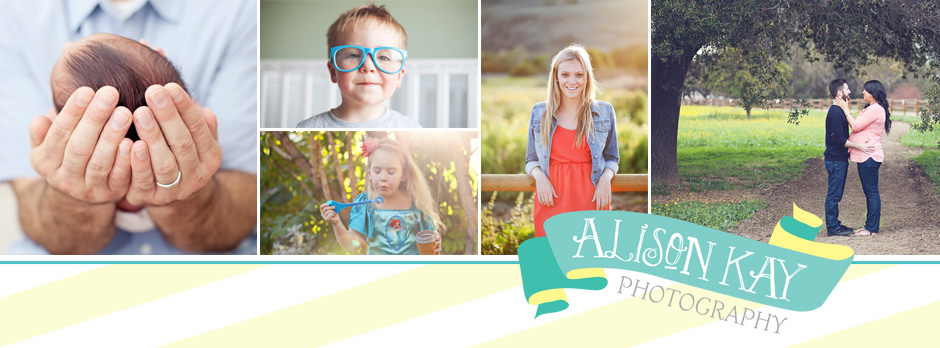 Alison Kay Photography- Newborn, Child, Family & Engagement Photographer Orange County