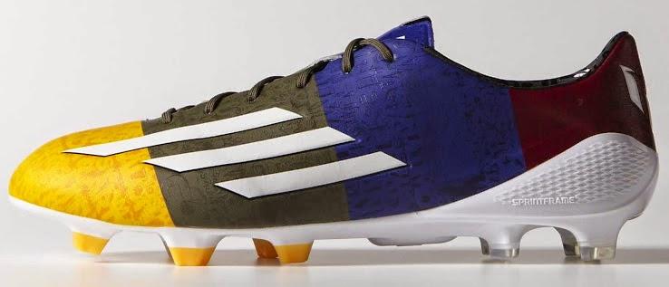 e94ea937b Blaugrana Adidas F50 Adizero Messi Champions League Boot   FOOTY FAIR