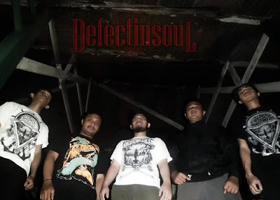 Defect In Soul Band Melodic Death Metal Malang Foto Personil Logo Artwork Images Pictures Wallpaper