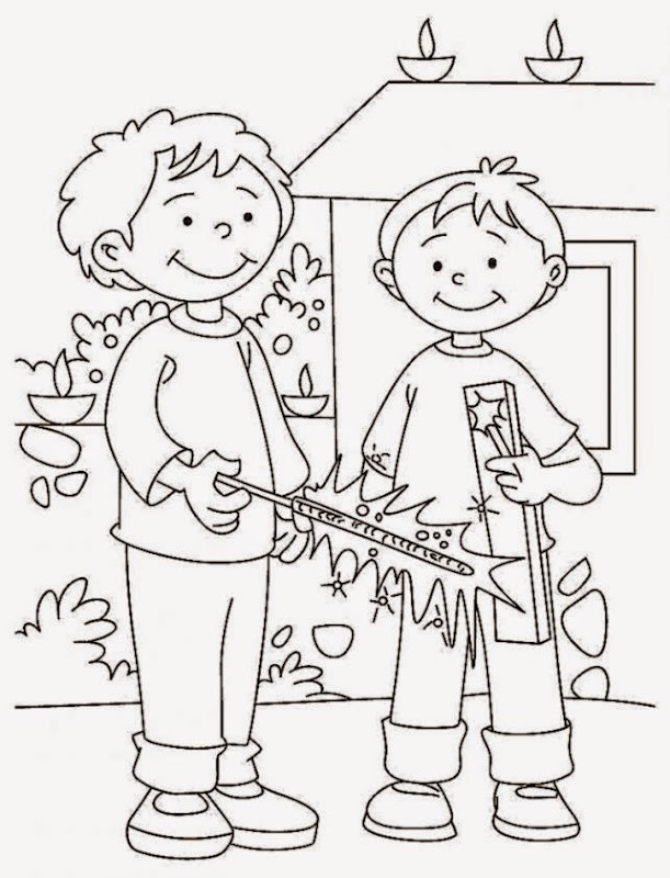 Diwali homework for kindergarten