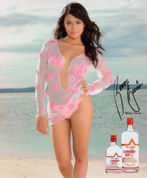 valerie bangs garcia tanduay bikini calendar photo 05