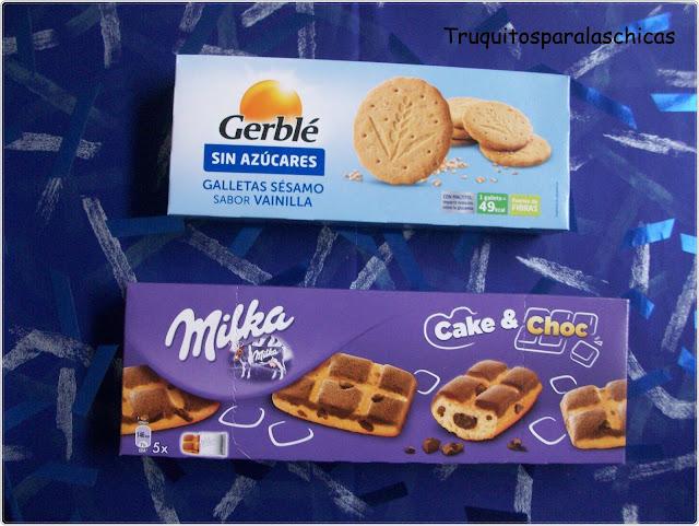 galletas con chocolate milka