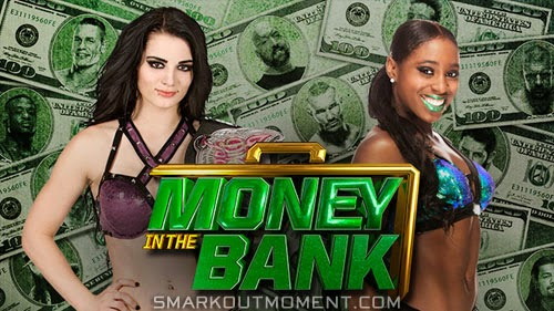 Funkadatcyls split up Money in the Bank 2014 Paige Divas Championship