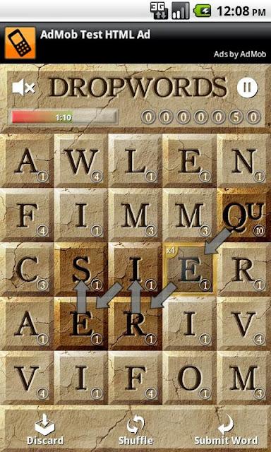 Kelime (Dropwords) Android Apk Oyunu resimi 3