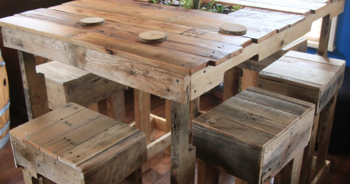 Crafty trev pallet table for Cie no 85 table 4