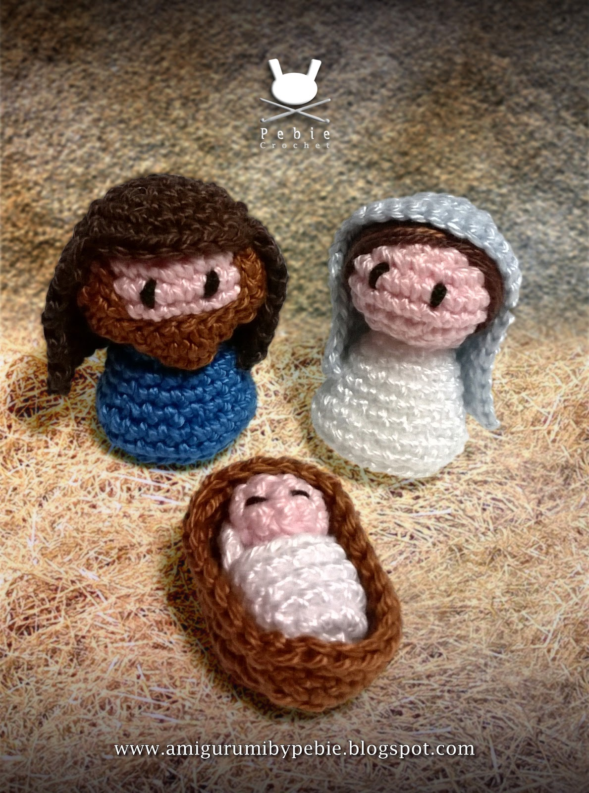 Belen Nativity Amigurumi : Funny Amigurumi by Pebie: Patterns