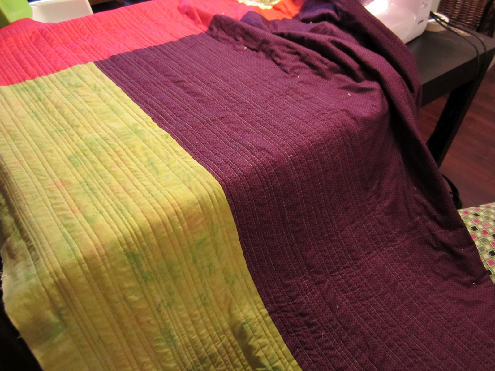 how to stop sticking puckering when quilting