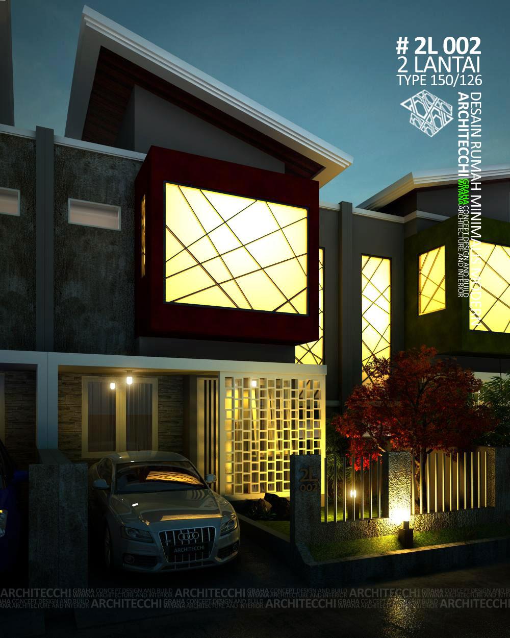 desain rumah type 150