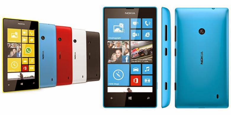 Microsoft Jual Lumia 520 di Bawah Rp 500.000
