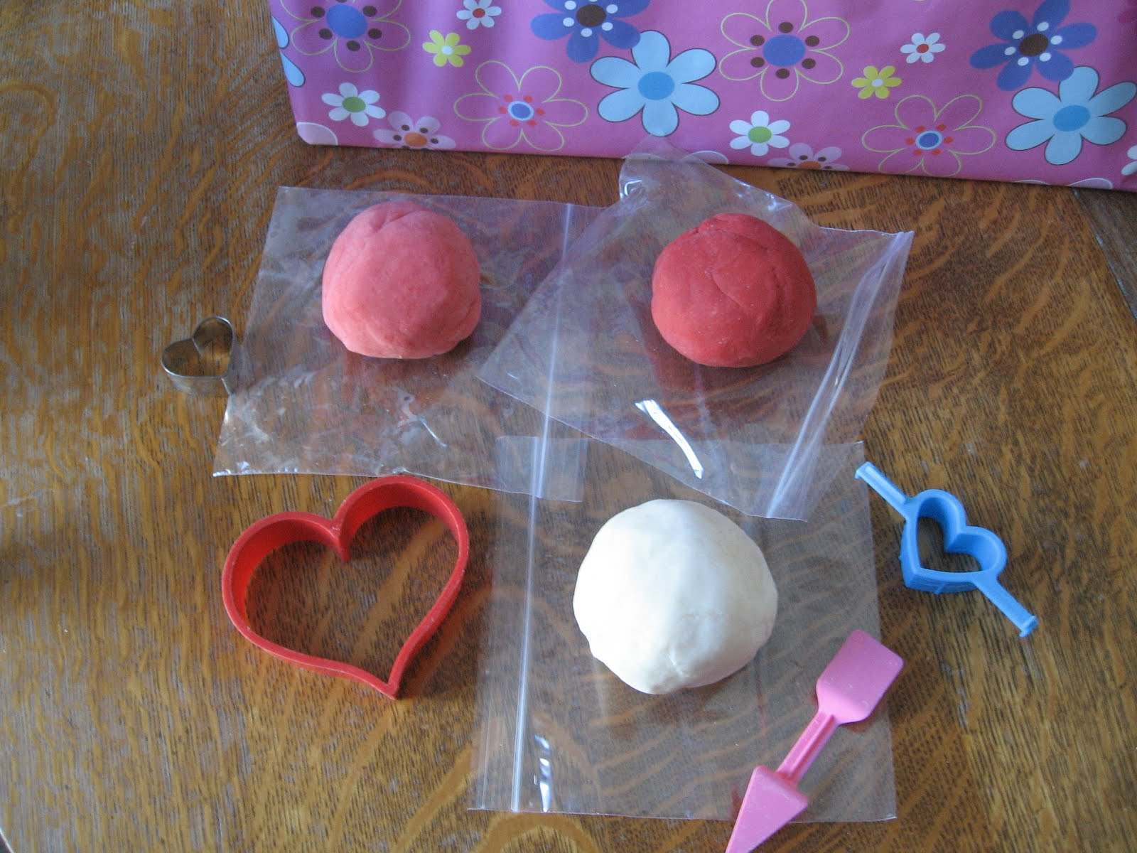 Almost Unschoolers Valentine S Day Playdough