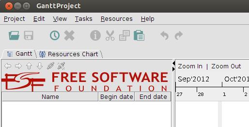 ganttproject development blog ganttproject with custom logo