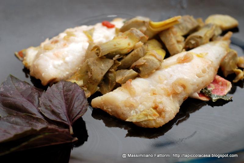 la piccola casa: cucinare il pesce: filetti di gallinella con ... - Come Cucinare Filetti Di Gallinella