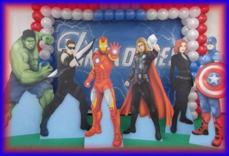 decoracao festa curitiba:em Curitiba – The Avengers Curitiba