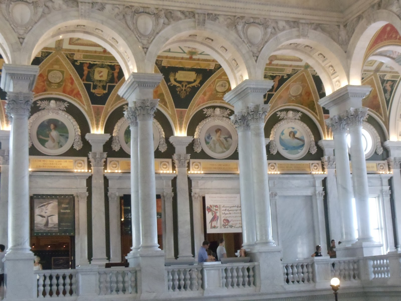 Second floor Thomas Jefferson Building Library of Congress