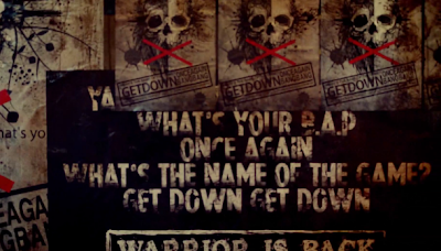 BAP Warrior review English sign