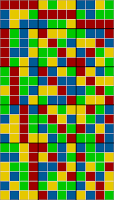 21x12 grid coloring - sorted solution 2