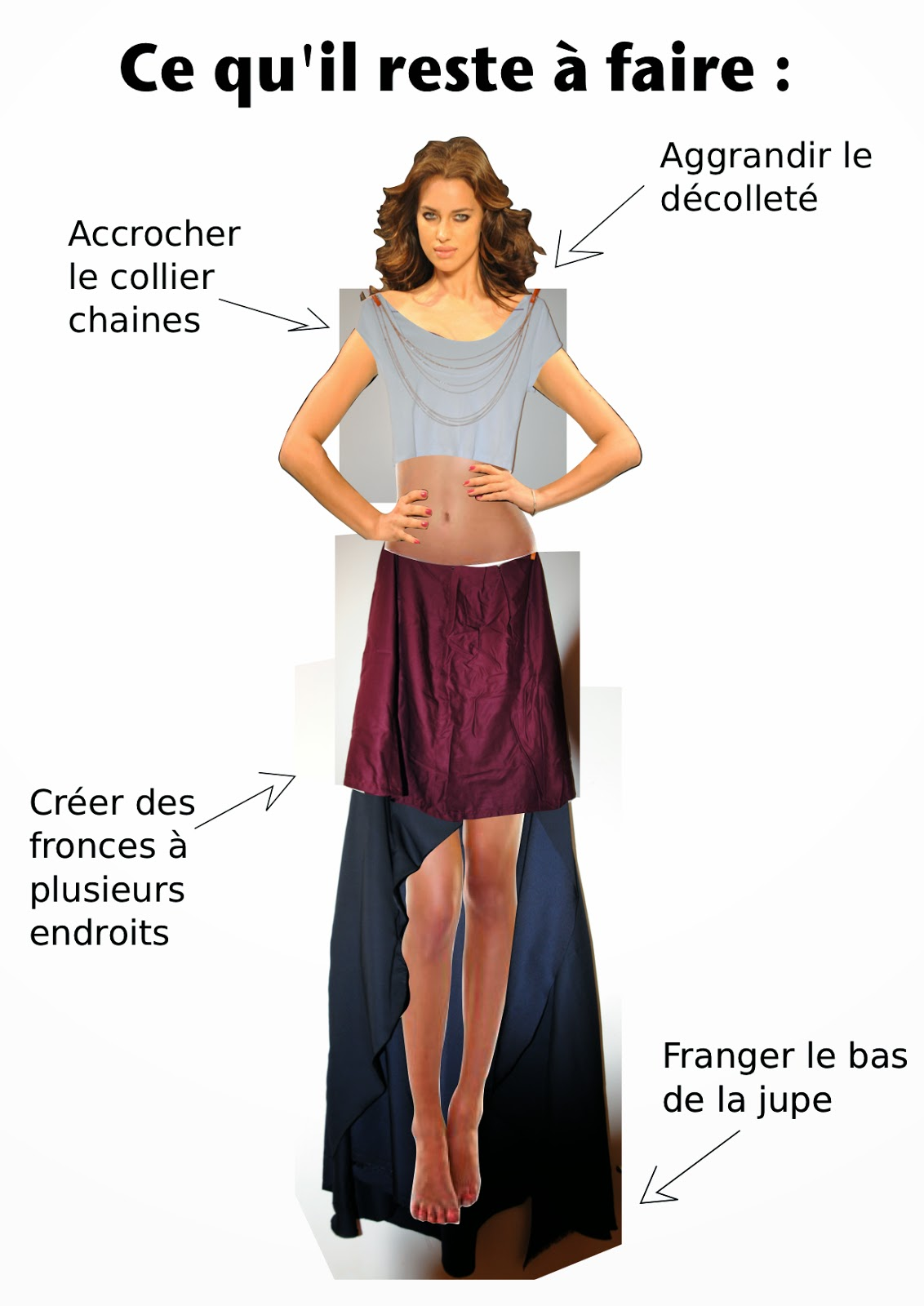 jupe couture Céline