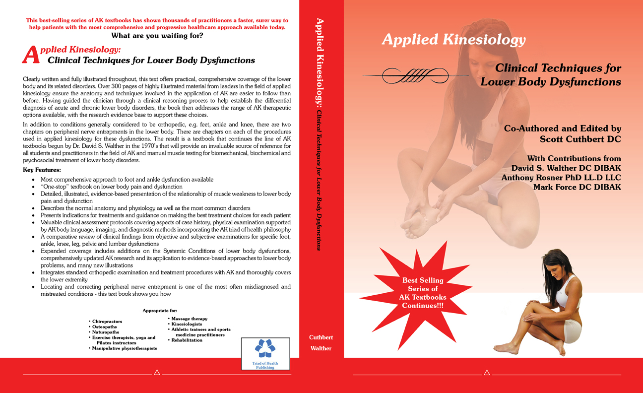 Applied kinesiology research paper