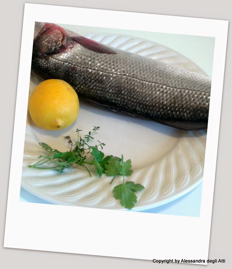 ingredienti pesce al forno