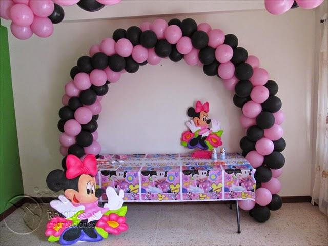 Decoracion minnie mouse rosa - Decoracion fiesta rosa ...