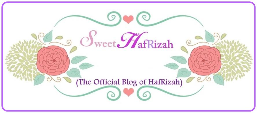 ! Sweet HafRizah !