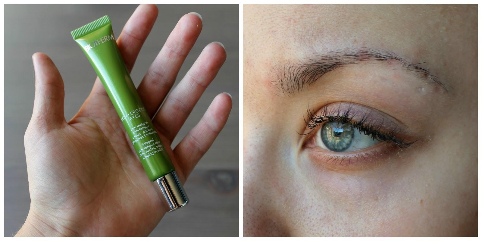 Silmänympärysvoide tummille silmänalusille