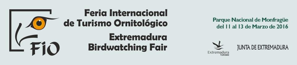 FIO Extremadura Birdwatching Fair
