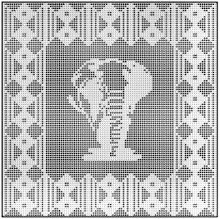 Free Filet Crochet Elephant Pattern : filet crochet-Knitting Gallery