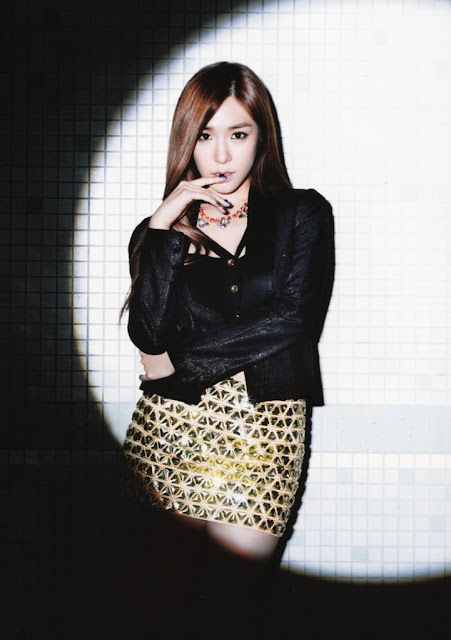 SNSD Girls Generation Tiffany Flower Power Individual Pictures