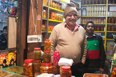 Kushiram, Delhi Achaar Maker