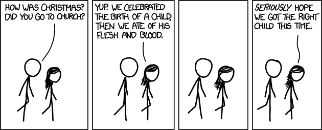 'Communion' | xkcd [by Randall Munroe @ 12/25/12 7:00 PM]