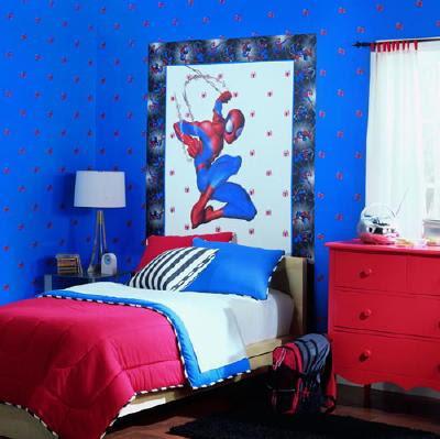 chambre à coucher magnifiques Spider-Man
