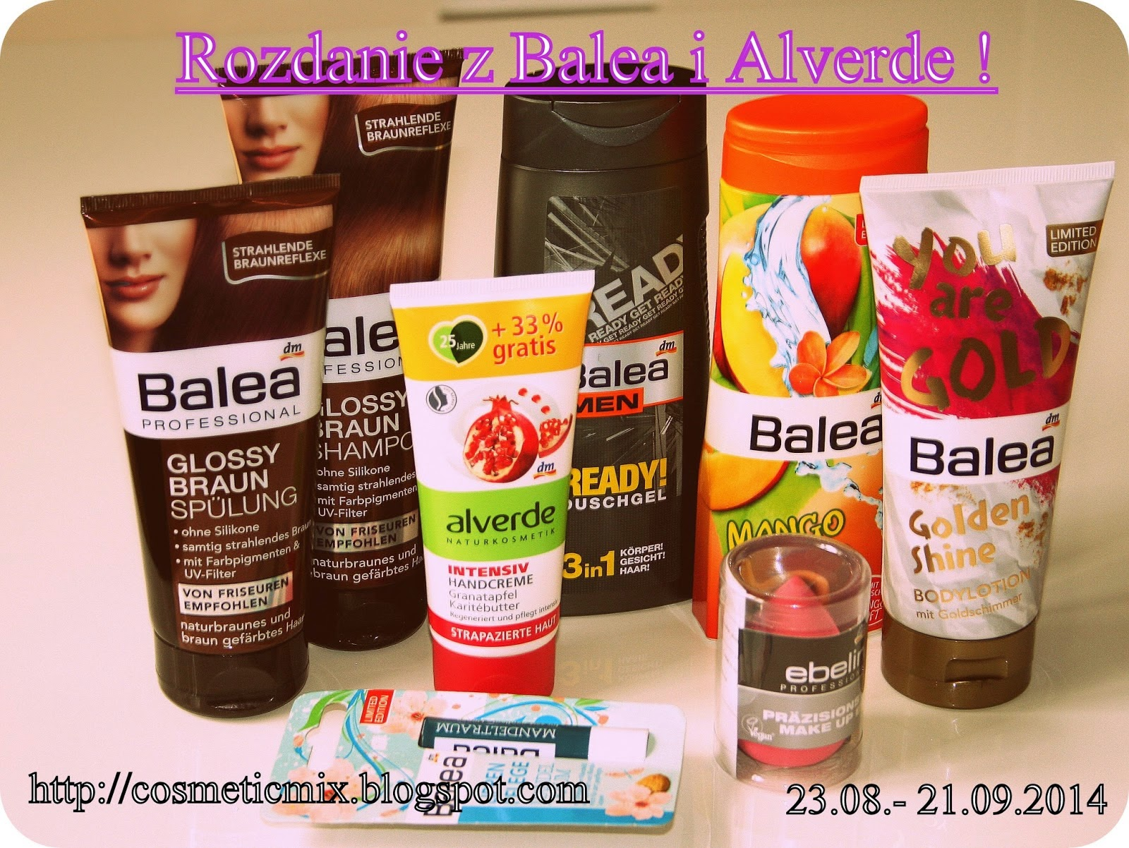 http://cosmeticmix.blogspot.com/2014/08/rozdanie-z-balea-i-alverde.html
