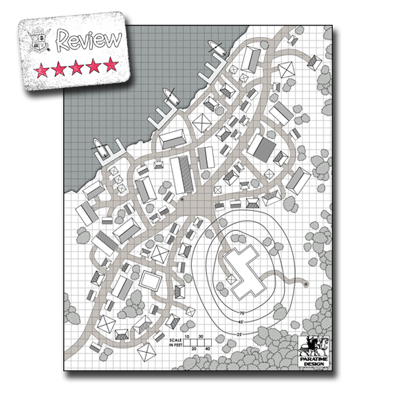 Frugal GM Review: Village Maps from Paratime Design