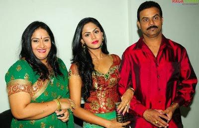 Karthika Nair  family
