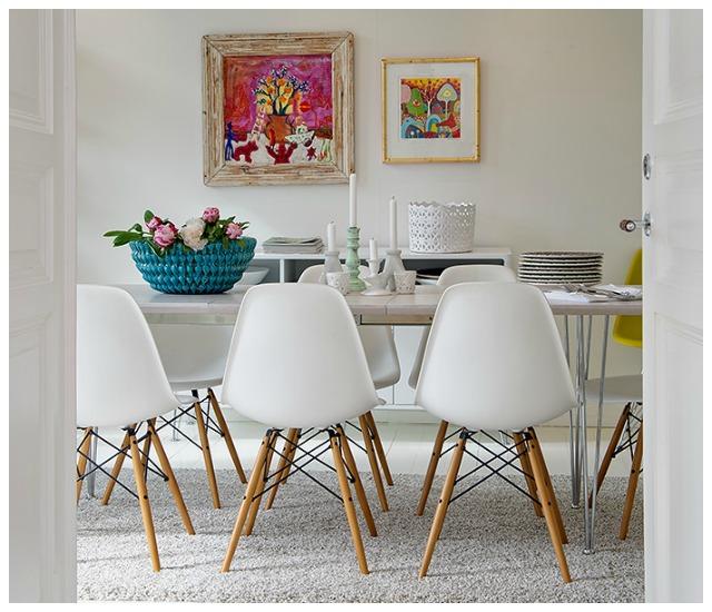 Como definir el estilo de un comedor con las sillas for Estilos de sillas para comedor