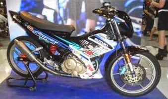 Foto Modifikasi Honda Satria Terbaru 2014 Jakarta