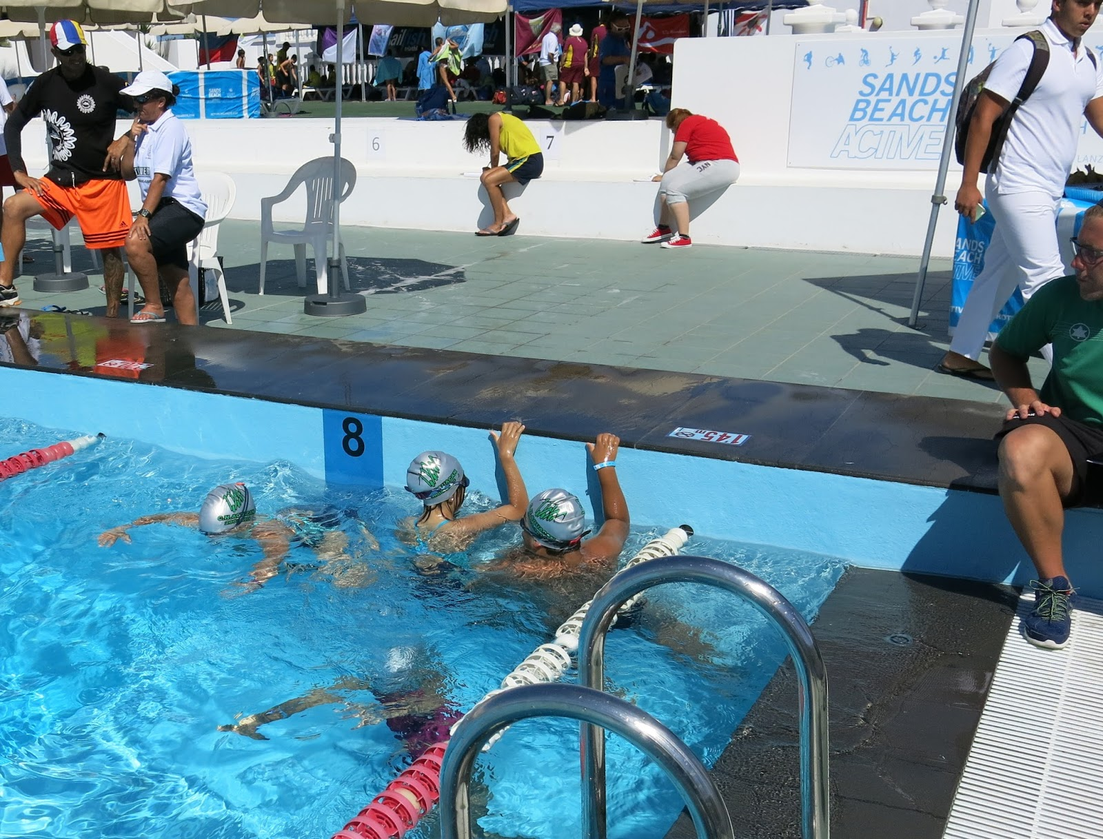 Club nataci n aguac n agenda semana 15 junio for Piscina julio navarro
