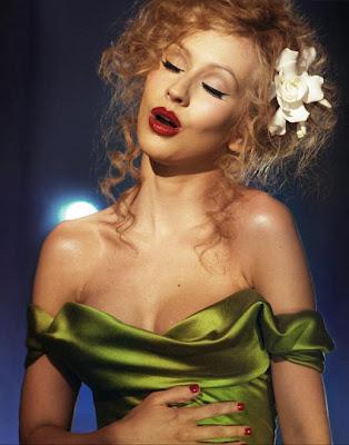 christina aguilera burlesque hair and makeup. christina aguilera hair 2010.