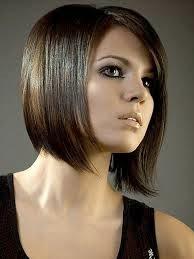 corte de pelo y peinado estilo bob liso with peinados para pelo corto liso mujer