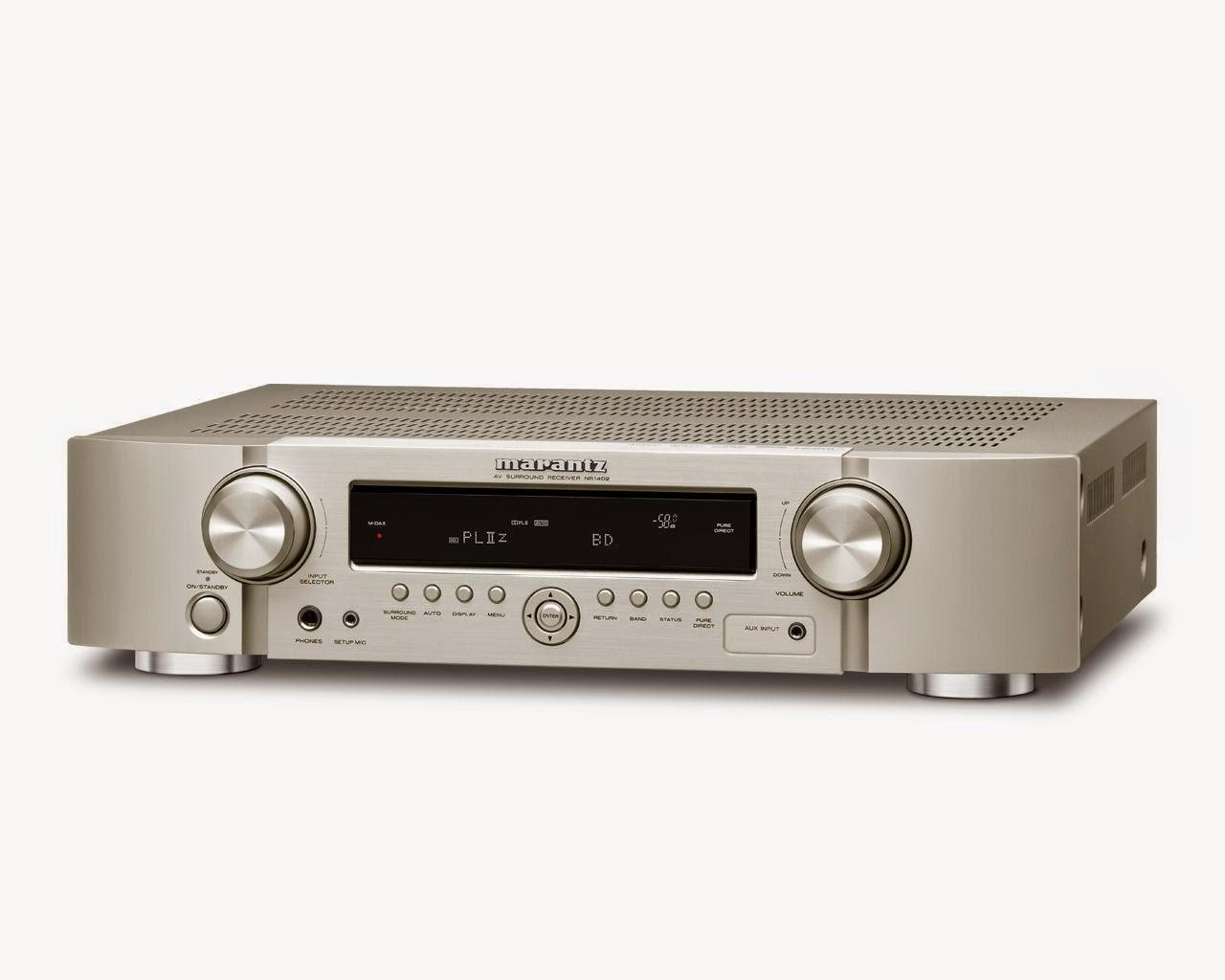 Marantz nr1402 av receiver audiobaza for Marantz or yamaha