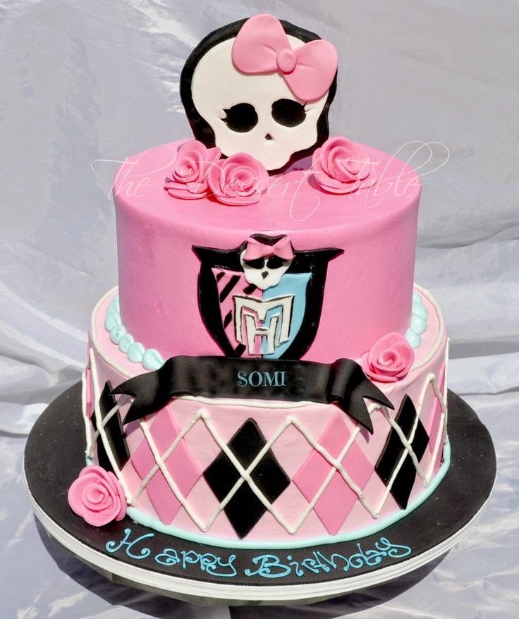 Tortas Decoradas de Monster High