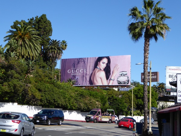 Gucci Bamboo fragrance billboard