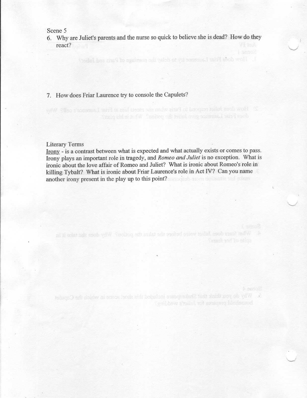 stewie s english romeo and juliet act iv study guide romeo and juliet act iv study guide