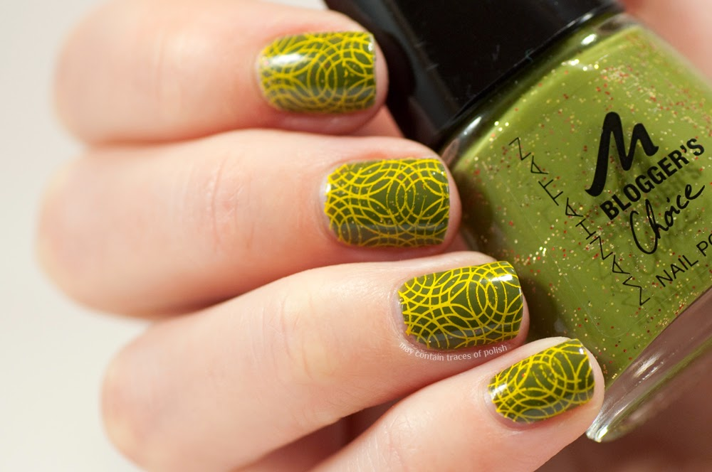 70s Wallpaper Nail Art With Emily De Molly Edm06 May Contain