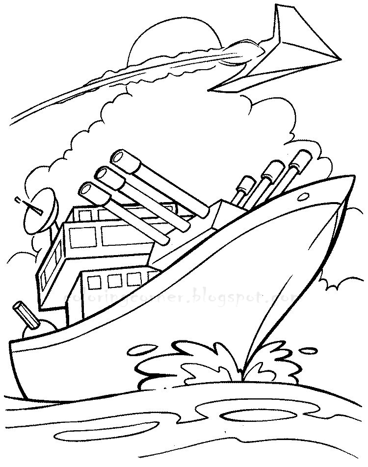 printable boat pictures coloring pages - photo#20