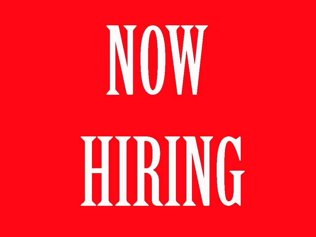 printable now hiring signs